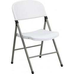Chaise pliante en plastique...