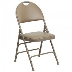 Chaise pliante en métal prato4