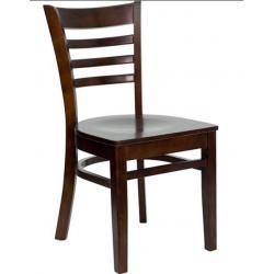 Wood BX Chaise de restaurant