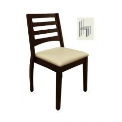 Noe wood restaurant chair