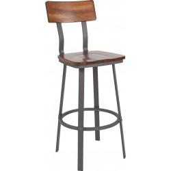 Tabouret de bar rustique - WB4